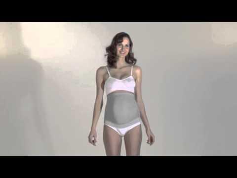 Schwangerschaftsgurt mit Silberfasern von RELAXSAN - Art.0434