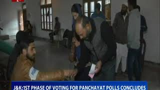 JK: 1st phase of voting for panchayat polls concludes