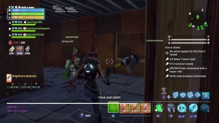 Fortnite save the world trading live Help me reach 200 subs
