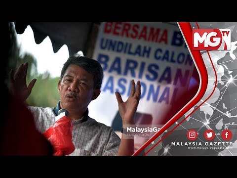 TERKINI : Batal Rombongan Sebab Nak Undi Tok Mat #PRK Rantau