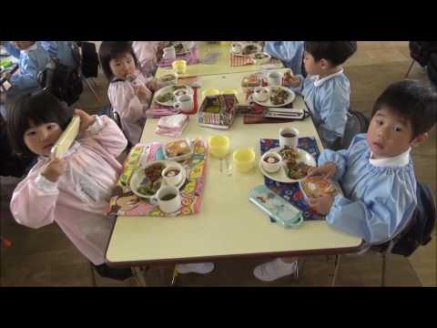 笠間 友部 ともべ幼稚園 子育て情報「初めての給食