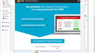 avast reactivate free