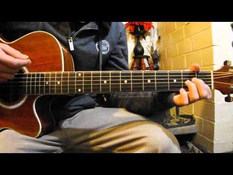 Alex Turner - Hiding Tonight (Submarine OST) (Acoustic cover)
