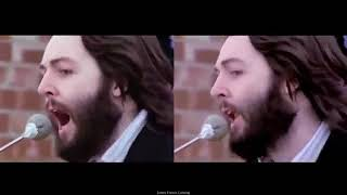 THE BEATLES  GET BACK  Rooftop Performance 69' Split ScreenHQ