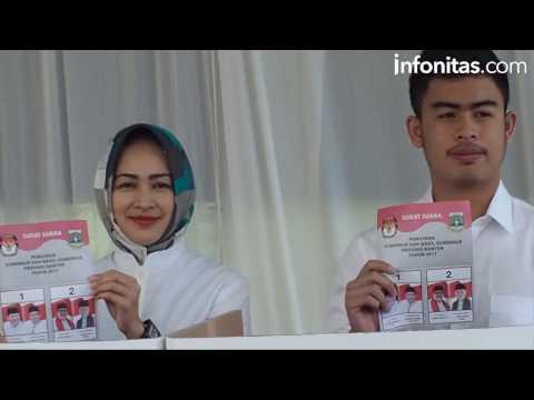 Suasana Pencoblosan Pilkada 2017 Banten di Kota Tangerang dan Tangsel