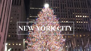 Day in NYC- Planet Hollywood & Rockefeller Christmas tree | 2019