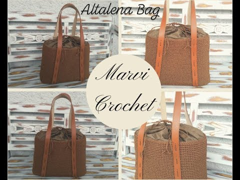 Tutorial borsa Altalena all'uncinetto/ Crochet  Altalena bag