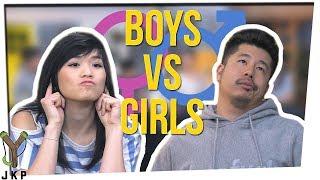 Who LISTENS Better?! | BOYS VS GIRLS??? ft. Gina Darling