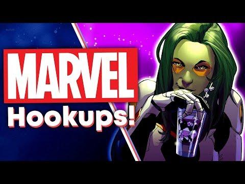 Surprising Marvel Comics Hookups!