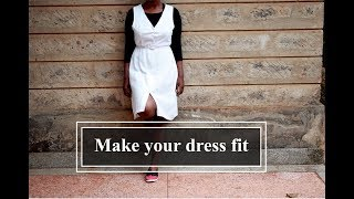 Make A Loose Dress Fit //Remakes