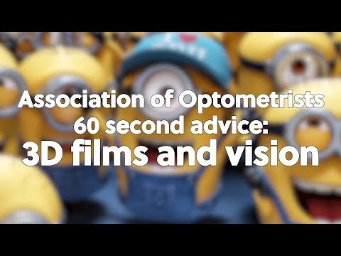 60 second advice: 3D films and children's vision