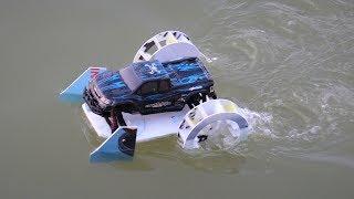 How to make a car - paddle boat - DIY RC car