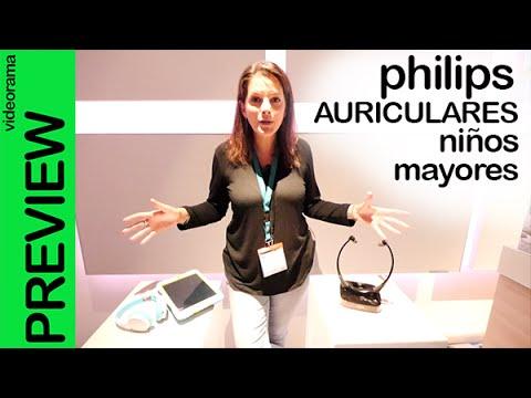Philips auriculares para niños y mayores #IFA15