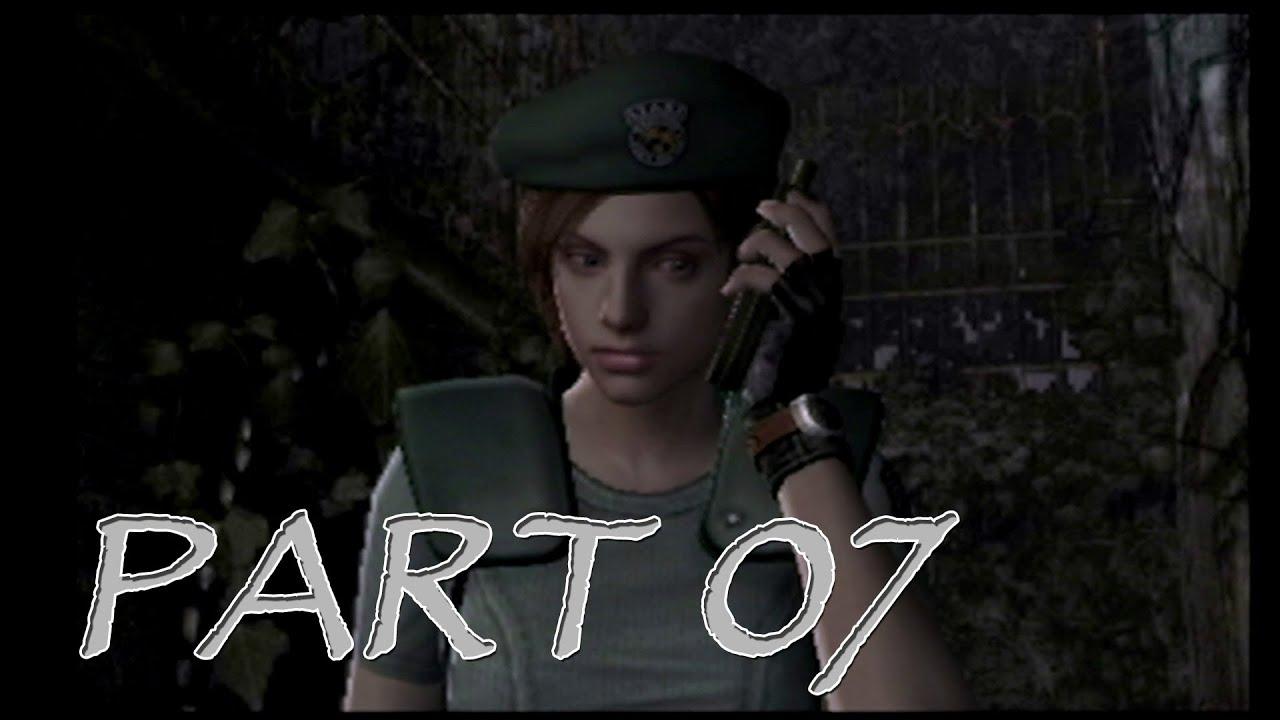 [Let's Play] Resident Evil Remake (2002) – 07 – Das Gartenhaus