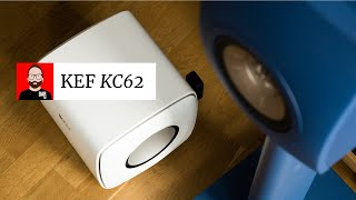 My first subwoofer: KEF's KC62
