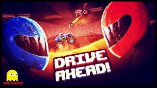 DRIVE AHEAD #2 БИТВА ВЕСЕЛЫХ МАШИНОК - Челлендж Мультяшная игра для детей Битва тачек на арене