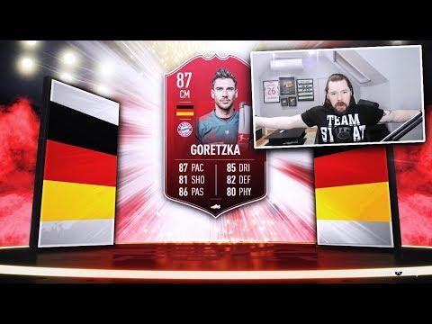 87 POTM  LEON GORETZKA! - FIFA 19 Ultimate Team