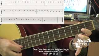 Ayla Çelik - Bağdat - Gitar Dersi ( Solo )