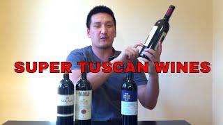 Italian Wine: Super Tuscan, Sangiovese-based Wines
