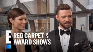 Justin Timberlake & Jessica Biel Take Over Es Red Carpet  E Live From The Red Carpet