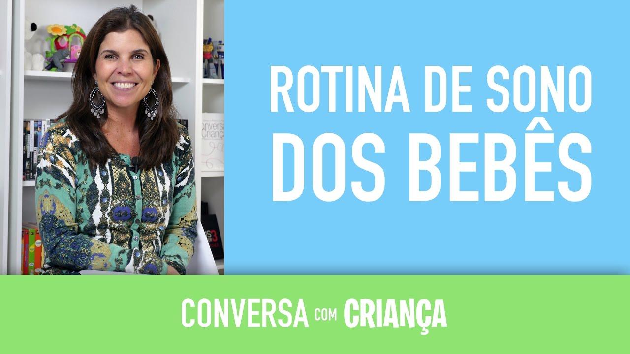 Rotina de sono dos bebês | Conversa com Criança | Psicóloga Infantil Daniella Faria