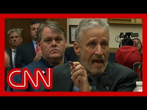Download Jon Stewart chokes up, gives angry speech to Congress HD Mp4 3GP Video and MP3