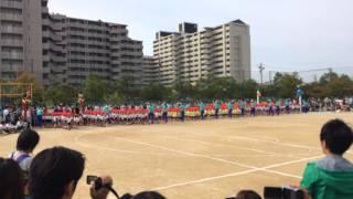 Japanese Kindergarten Sports Day: Marching