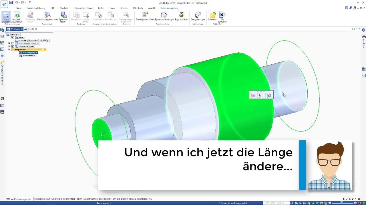 Vorschaubild: PBU-Tool für Solid Edge: Property Publisher