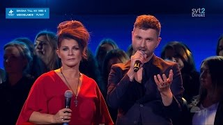 "Carola,  Ola Salo & Tensta Gospel Choir - Tell Me This Night Is Over (Live ""Hela Sverige Skramlar"")"
