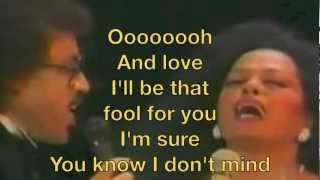 Diana Ross and Lionel Richie Endless Love Lyrics
