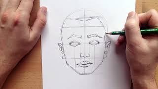Hoe Teken Je Een Gezicht ( Man )