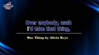 One Thing by Alicia Keys (Karaoke)