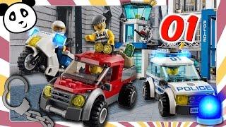 Lego City Policía 🚓  Estallido en la estación de policías - Parte 1 - Pandido TV