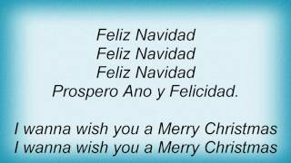 The Cheetah Girls - Feliz Navidad Lyrics