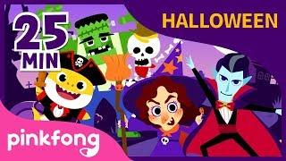 Las Mejores Canciones De Halloween | ABC Y +16 | +Recopilación | Pinkfong Canciones Infantiles