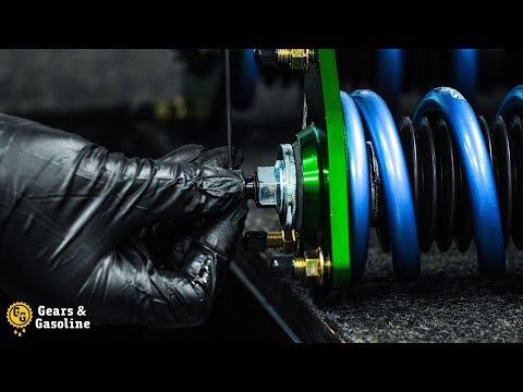 Gears & Gasoline – Hand-Building Suspension ASMR