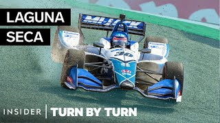 Pro Driver Breaks Down California's Most Dangerous Race Track | Turn By Turn