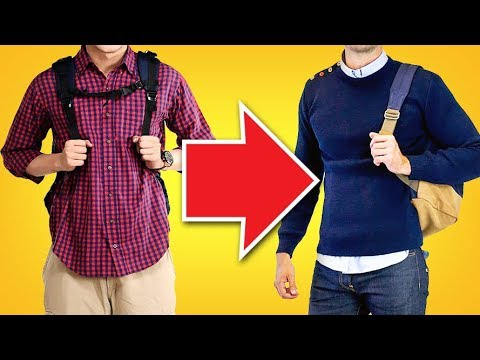 10 EASY Fashion Tips To Level Up Your Student Style | RMRS Young Man Image Videos