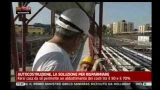 preview picture of video 'Sky TG24 nel cantiere di Villaricca'