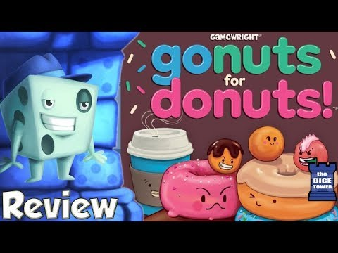 Go Nuts for Donuts Review - with Tom Vasel