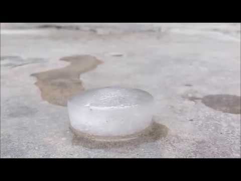 Melting of ice!!