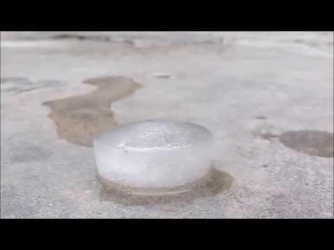 Melting of ice!!