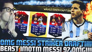FIFA 16 MESSI IMOTM STRIKER FUT DRAFT DEUTSCH  FIFA 16 ULTIMATE TEAM  OMFG BEAST FUT DRAFT