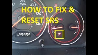 How To Fix U0026 Reset SRS Light For Any Honda / Acura