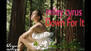 Miley Cyrus - Down For It ( vídeo explict )