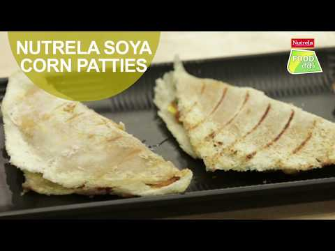 Nutrela Soya Corn Patties