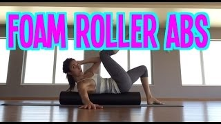 Challenge Your Abs On A Foam Roller