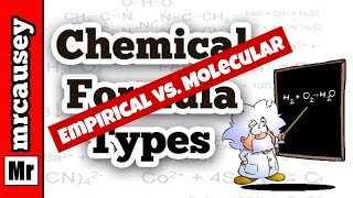 Chemical Formula Types | Empirical Vs. Molecular