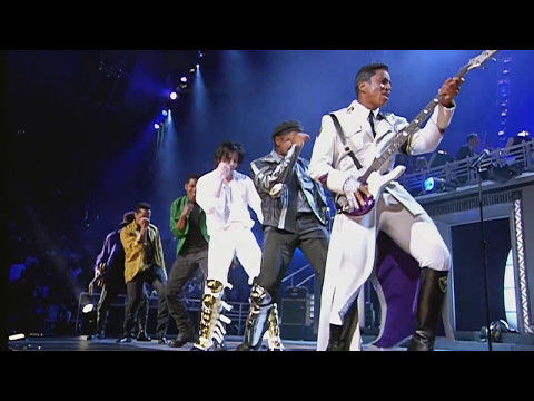 The Jacksons - Can You Feel It - Live in New York 2001 [60 FPS]