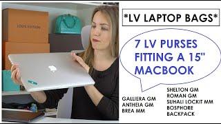 *BEST LV LAPTOP BAGS* Louis Vuitton Purses That Fit A 15 MacBook Pro | Anastasiya Bagaholic